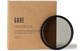 Gobe 82mm Circular Polarizing (CPL) Lens Filter (1Peak)