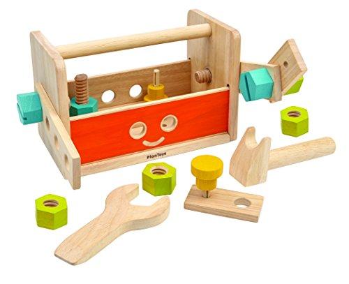 木のおもちゃ ロボットツールボックス