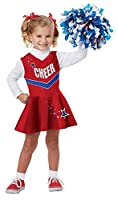 California Costumes Classic Cheerleader Costume One Color 4-6 [並行輸入品]