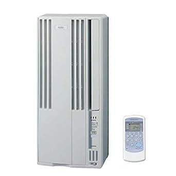 コロナ 窓用エアコン(冷房専用・おもに4.5~7畳用 シティホワイト)CORONA CW-A1815-W