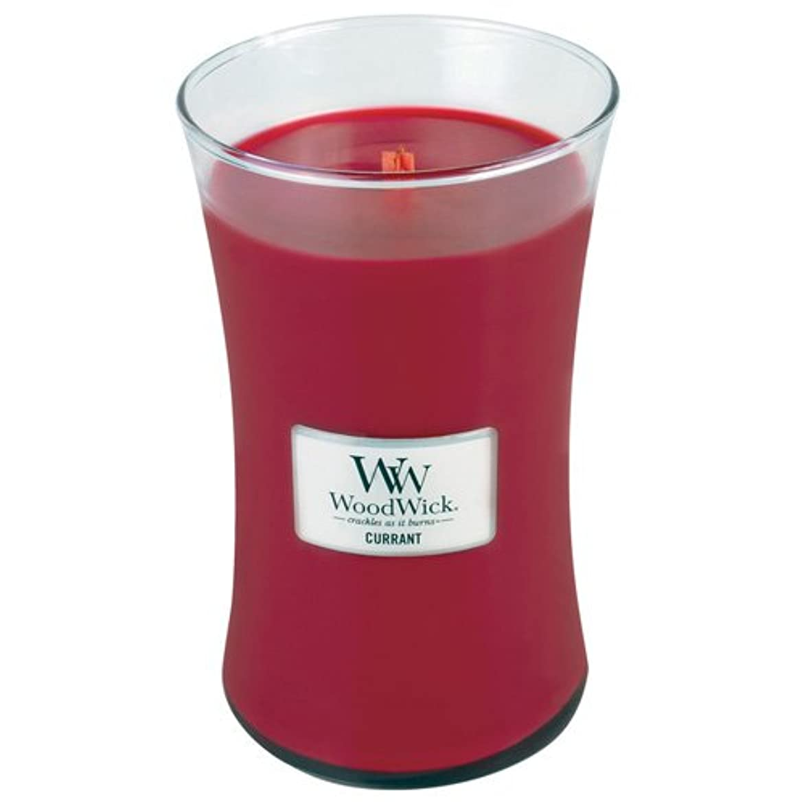 エスニック貴重な星Woodwick Jar Candle (Large) (Currant)