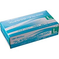 共和 プラスチック手袋 粉無 No.2000 L 10箱