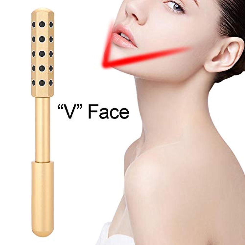 その結果ゼロシンプルな美顔ローラー 小顔ローラー i字型美容ローラー アイクロカレント フェイスローラー 美顔器 筋膜リリース 防水 男女兼用 脂肪/しわ/浮腫み/ほうれい線/たるみ/血行刺激対応 (ゴルドー)