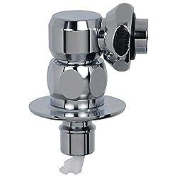 カクダイ 洗濯機用 水漏れ防止ストッパー付きニップル 2サイズ兼用 取付簡単 金属製 772-540