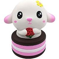 Oldeagle うさぎ ストロベリーケーキ 超低反発 圧力スクイーズ ストレス解消おもちゃ 子供と大人用