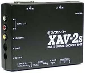 電波新聞社 XAV-2S アナログRGP S端子変換ユニット DP3913334