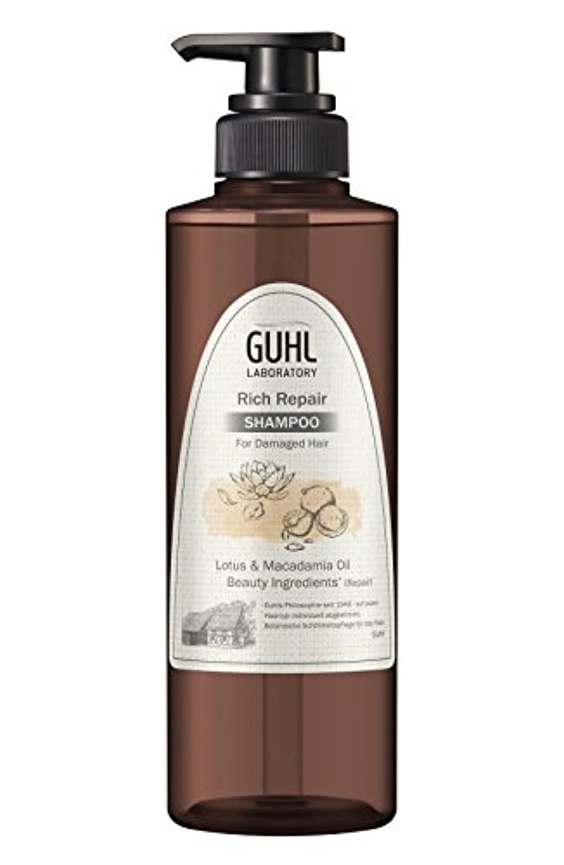 致命的ためにピルグール ラボラトリー シャンプー (ダメージのある髪へ) 植物美容 ヘアケア [ノンシリコン 処方] リッチリペア 430ml