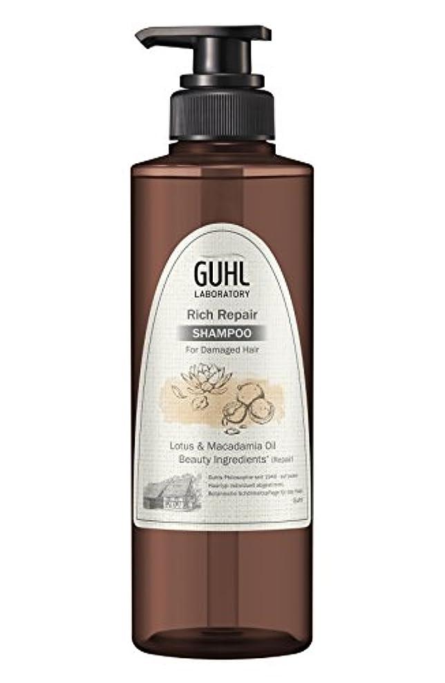 移行する影響を受けやすいです東部グール ラボラトリー ノンシリコンシャンプー (ダメージのある髪へ) 植物美容 ヘアケア [ノンシリコン 処方] リッチリペア 430ml