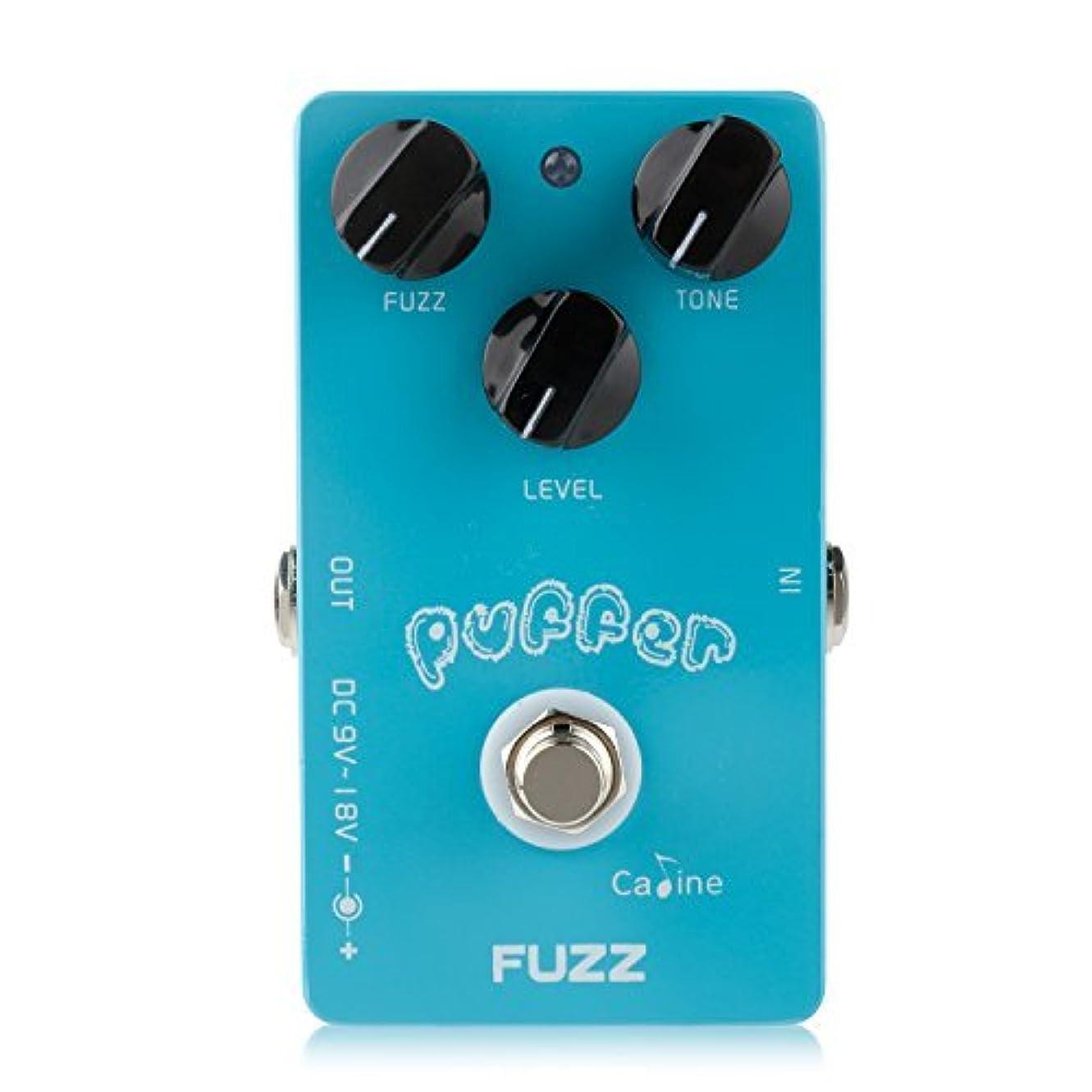 同意するスクラップブックかもしれないCaline Electric Puffer Fuzz Effects Guitar Pedal with Alumium Alloy Housing True Bypass CP-11 [並行輸入品]