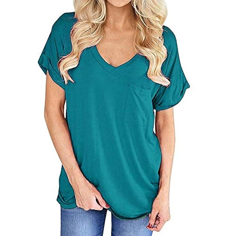 休憩富セブンMIFANポケットシャツ、半袖、コットンTシャツ、夏用トップス、ゆったりしたTシャツ、女性のブラウス、半袖Tシャツ