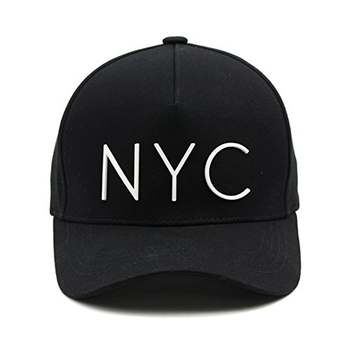 NYC 野球帽 (ブラック) [並行輸入品]