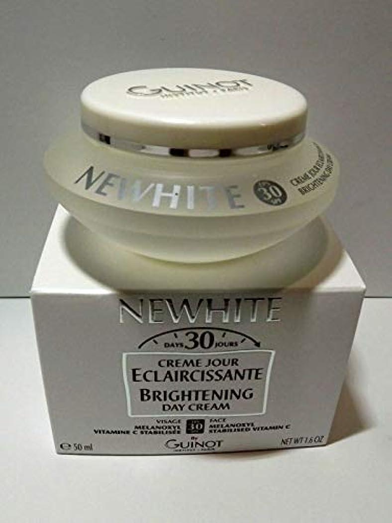 混雑マンモスケーブルカーギノー ニューホワイトブライトニングデイクリームSPF30 50ml 50ml/1.6oz
