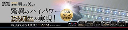 寿工芸 寿工芸 フラットLED ツイン 600