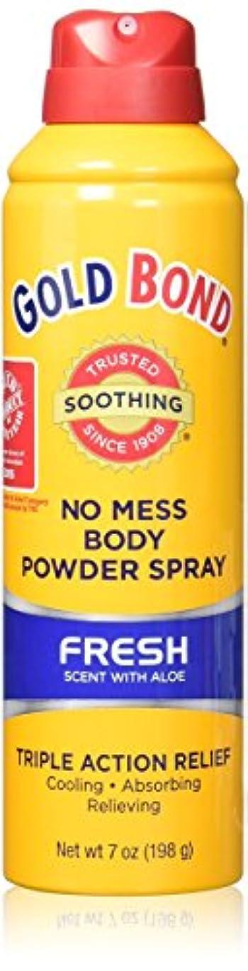 実験的一定空いている海外直送品Gold Bond Gold Bond No Mess Powder Spray, Fresh Scent With Aloe 7 oz (Pack of 2)