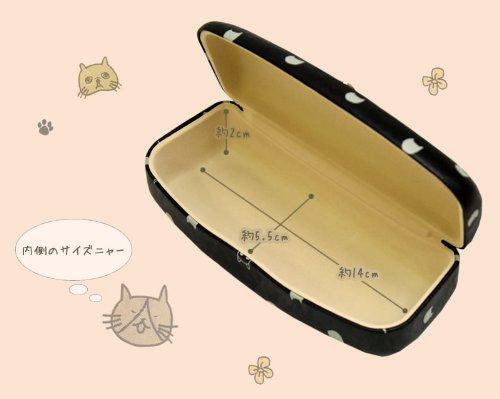 anello ネコ メガネケース ZG-44241L-オレンジ