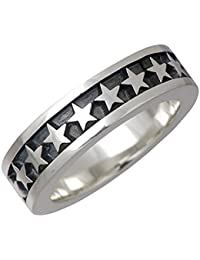 DEAL DESIGN ディールデザイン レガート スターナロー シルバー リング 星 指輪 21号 390272