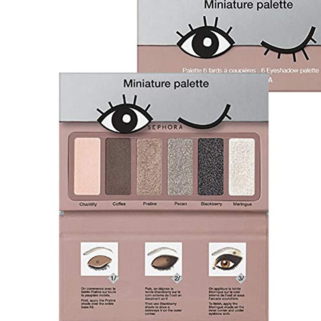 SEPHORA COLLECTION Miniature Palette - Nougat Shades [海外直送品] [並行輸入品]