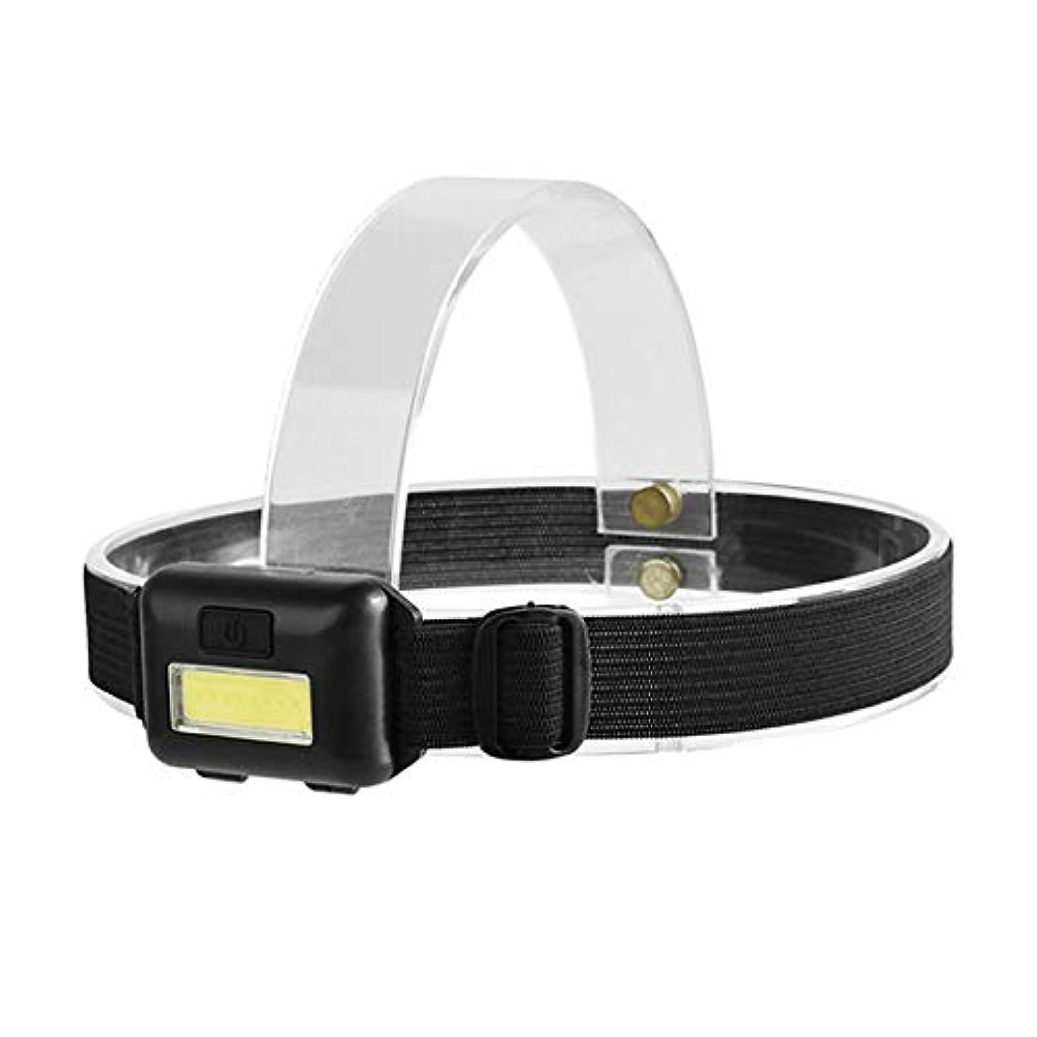 心からレポートを書く害虫Stardust ブラック COB ヘッドライト 光量 LEDライト 夜間 照明 ランニング SD-COBRIGHT
