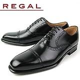 [リーガル] REGAL メンズ ビジネスシューズ ストレートチップ 122R AL ブラック 26.0cm