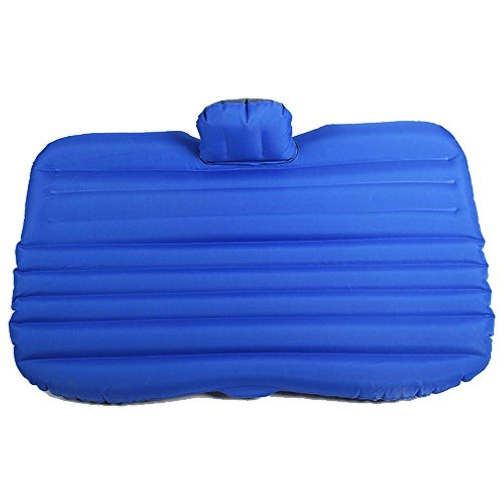浸漬アカデミー有害なエアベッド - 電気ポンプとキャリーバッグアウトドア釣りエアベッドインフレータブルマットレスキャンプ アウトドアレジャー用品 (Color : Blue, Size : 1)