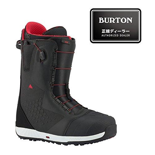 17-18モデル BURTON バートン 【ION ASIAN FIT】 Black/Red 8.5inch(26.5cm) 【Speed Zone】 SNOWBOARD スノーボード 正規品 保証書付 ブーツ BOOTS アジアンフィット スピードゾーン