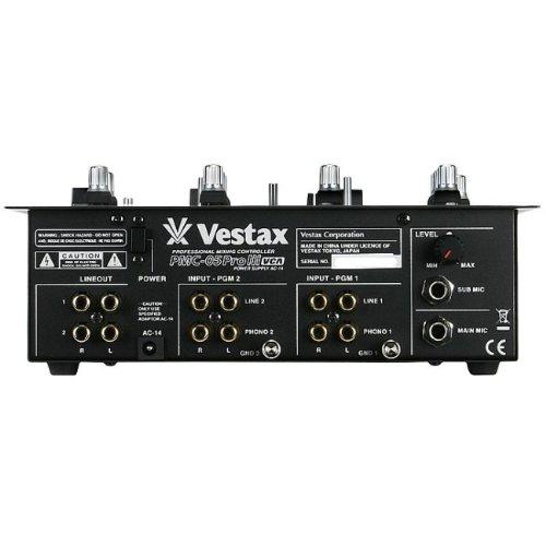 Vestax DJミキサー PMC-05PRO3 VCA エフェクトセンド/リターン機能搭載