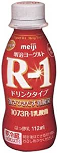 明治ヨーグルトR-1 ドリンクタイプ 【112ml×24本】