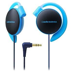 audio-technica COLORS オープン型オンイヤーヘッドホン 耳掛け式 ブルー ATH-EQ500 BL