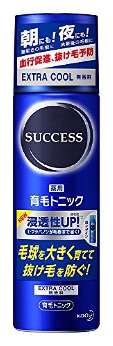 サクセス 薬用育毛トニック エクストラクール 無香料 180g ×6個