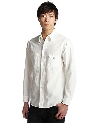 Big Yank Chambray Shirt 11-11-1880-398: White