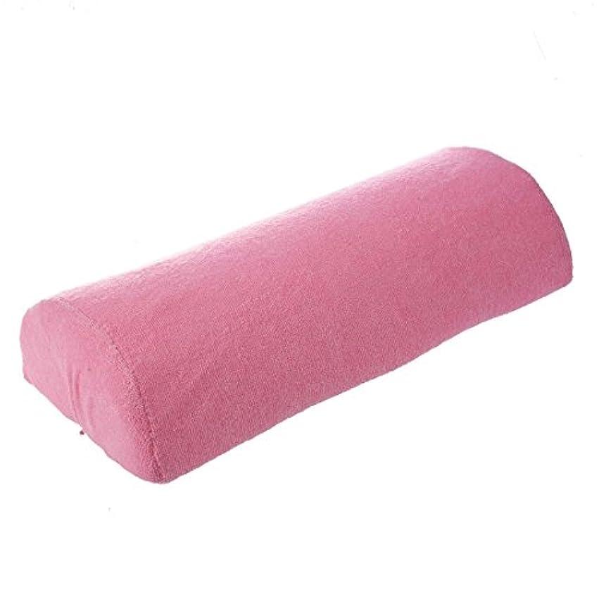 ぼろ焦がすもろいTOOGOO ネイルアートのハンドのクッション枕 ピンク