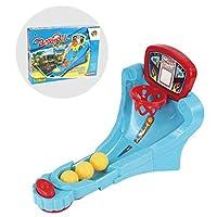 家族 面白い ボードゲーム ミニバスケットボール シュートゲーム フィンガープレイ 子供 おもちゃ 贈り物 (D)