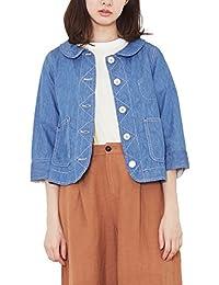 (プードゥドゥ) POU DOU DOU normes 丸襟 シャツ ジャケット 1811143078