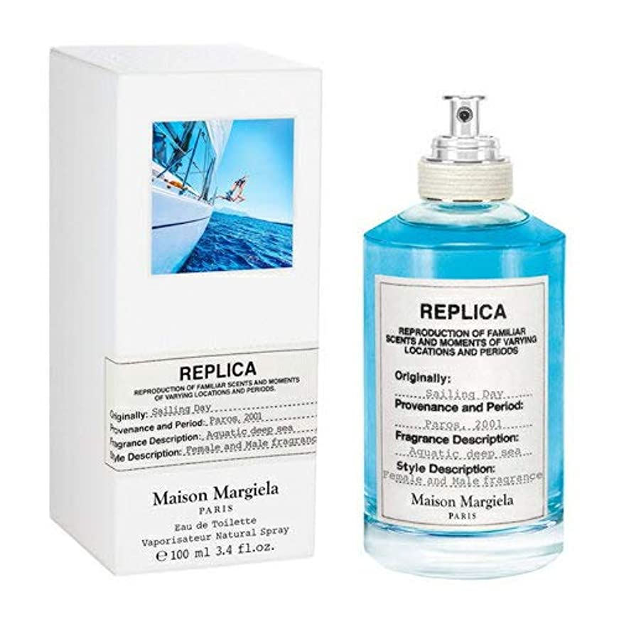 歯科医濃度浅いメゾン マルジェラ レプリカ セイリング デイ オードトワレ 100ml MAISON MARTIN MARGIELA REPLICA SAILING DAY EDT [並行輸入品]