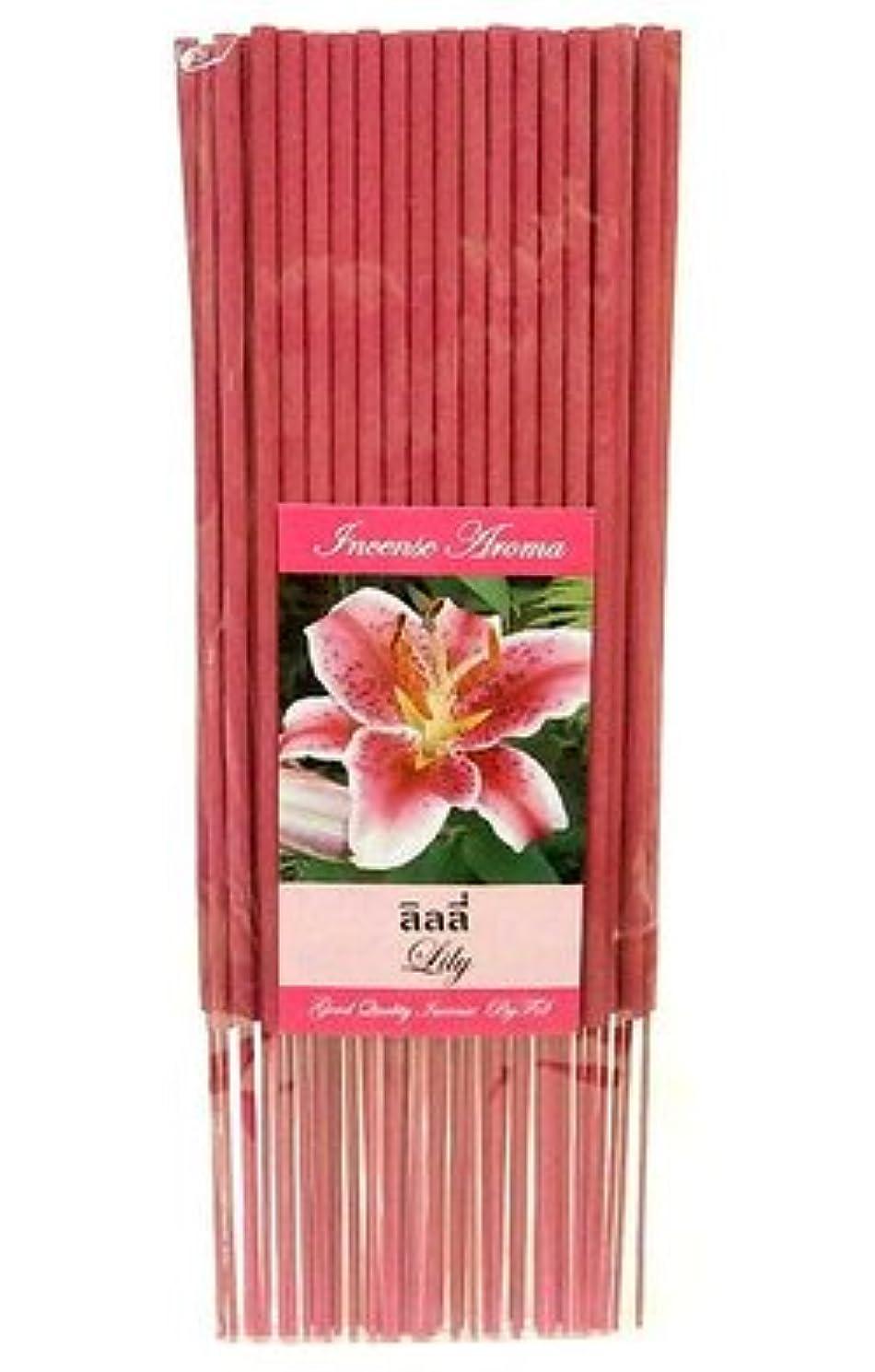 農学大通り敵意タイのお香 スティックタイプ [LILY/リリー] インセンスアロマ 約50本入りアジアン雑貨