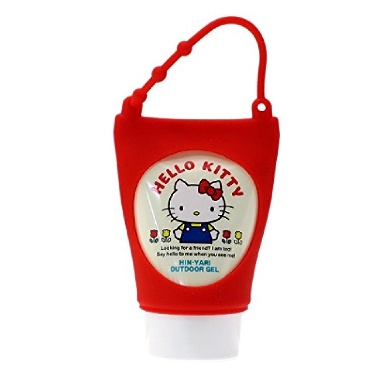 ハンディフォーカスくつろぐハローキティ[アウトドア用品]ひんやりゲルクリームサンリオ サンタン 日本製 キャラクター グッズ 通販