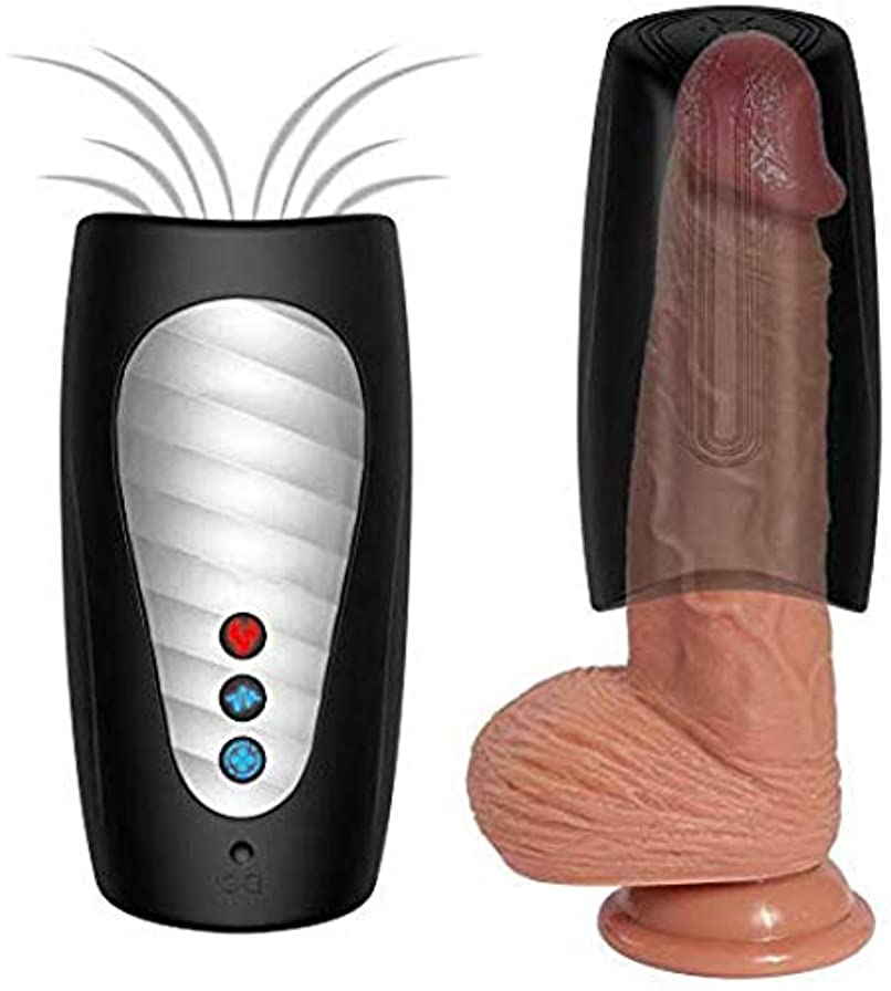 正確さむさぼり食う悔い改め7種類の振動モードと3種類の吸引強度を持つ男性用おもちゃ