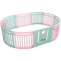 LHA ベッドガード?フェンス 赤ちゃんPlaypen折りたたみPlaypen Fence Expandable