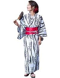(ディータ) Dita 本格 女性 浴衣 すぐにお出かけフルセット 浴衣本体(ゆかた)・作り帯(つくりおび)・下駄(ゲタ) の基本3点セット+着付けスタイルブック(冊子) の計4点