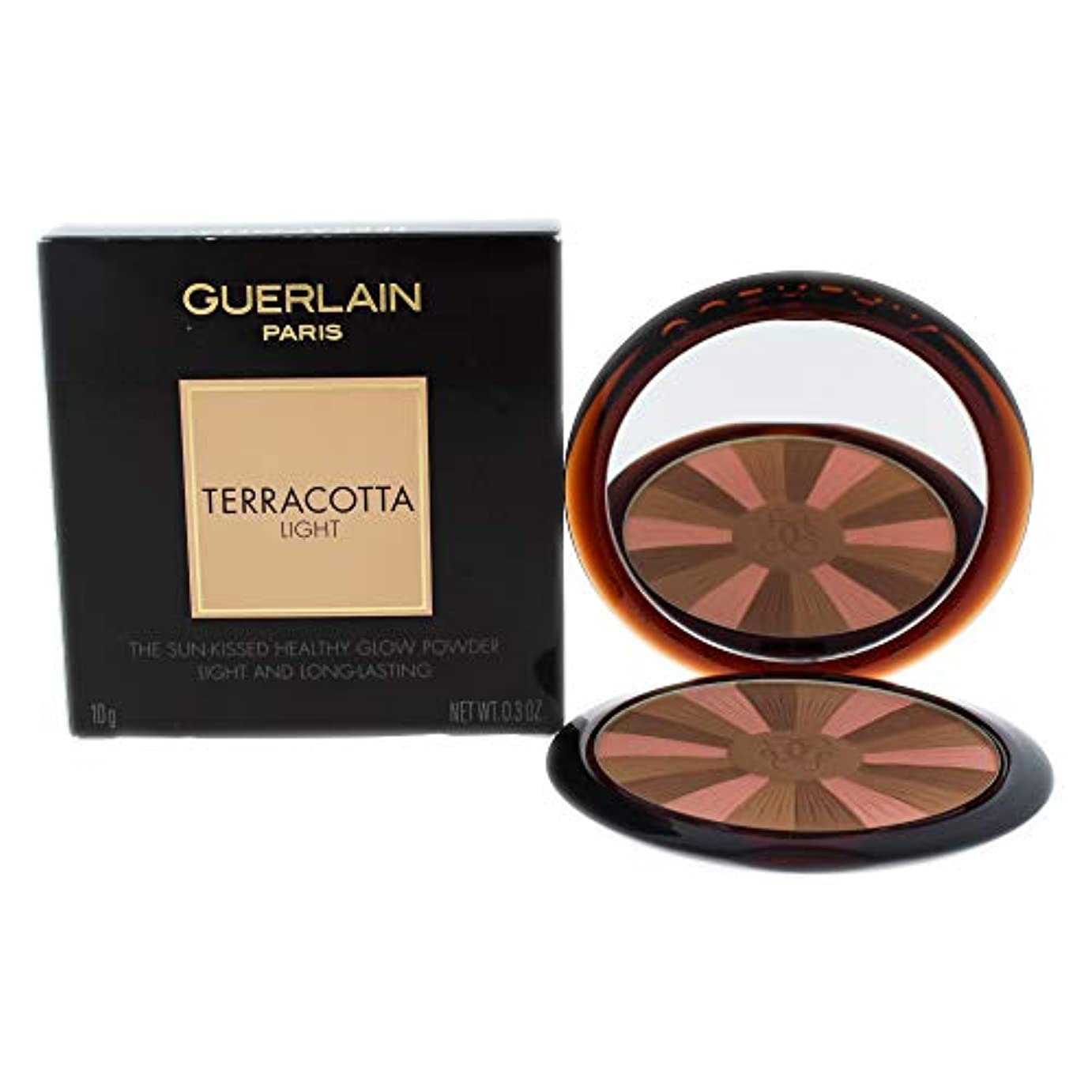 ライトニング腐敗茎ゲラン Terracotta Light The Sun Kissed Healthy Glow Powder - # 02 Natural Cool 10g/0.3oz並行輸入品