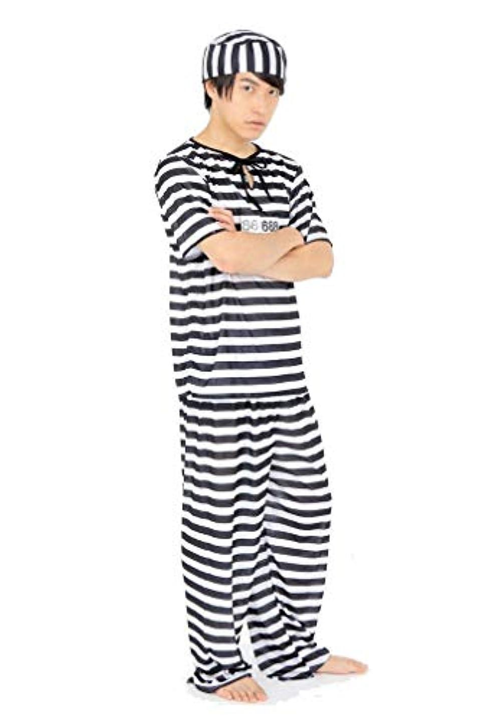 船員クレア責める囚人服 メンズ