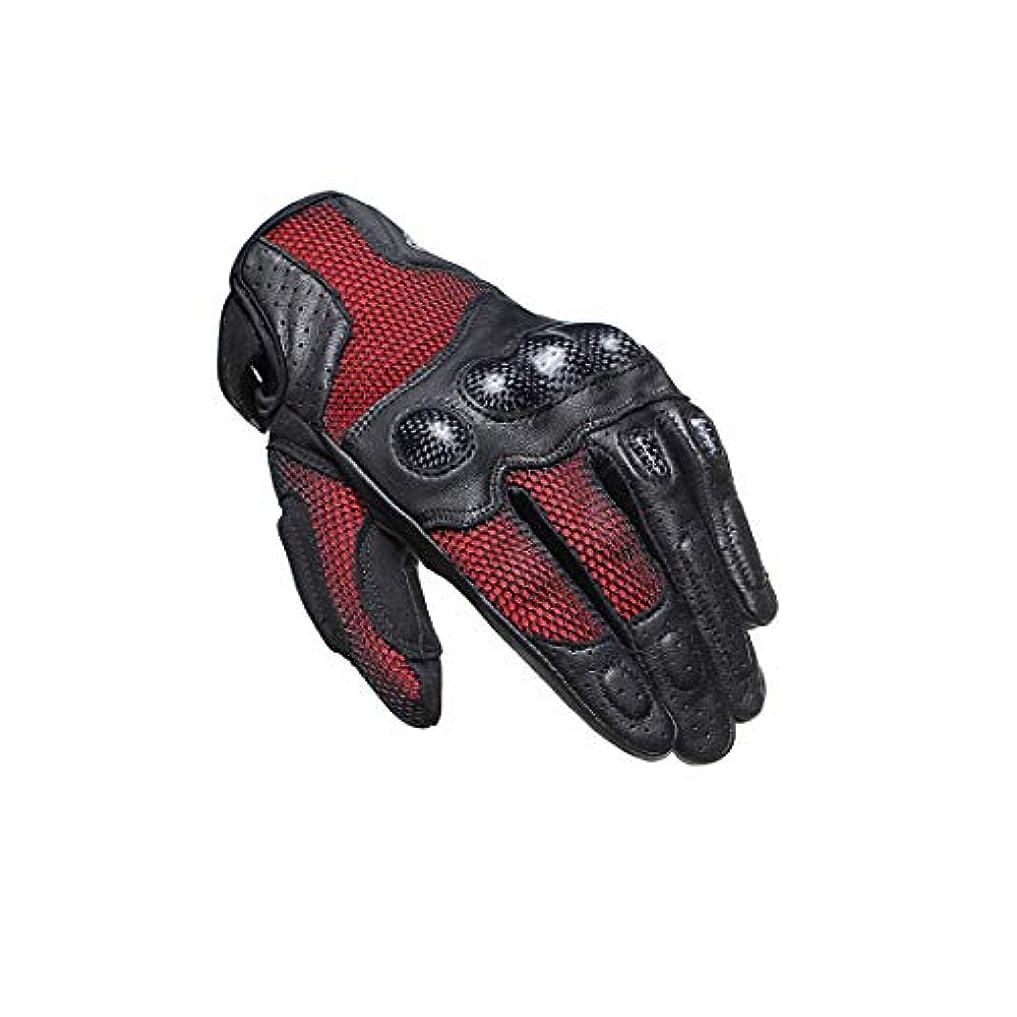 発見するおもちゃグローブOWNFSKNL オートバイレーシングペイントボール用防水のタッチスクリーンオートバイグローブ (Color : レッド, サイズ : L)