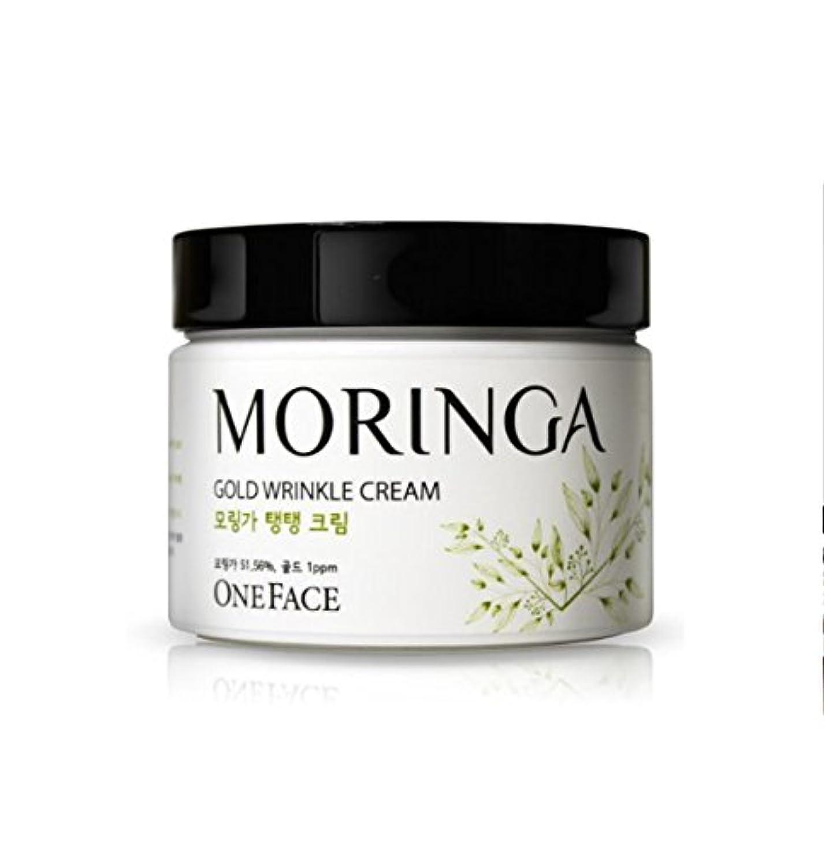 折り目ポジションカラスONEFACE モリンガ ゴールド リンクル クリーム / Moringa Gold Wrinkle Cream (100ml) [並行輸入品]