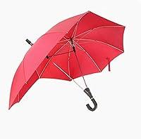 傘クリエイティブフックカップルダブルトップ傘 (Color : Red)