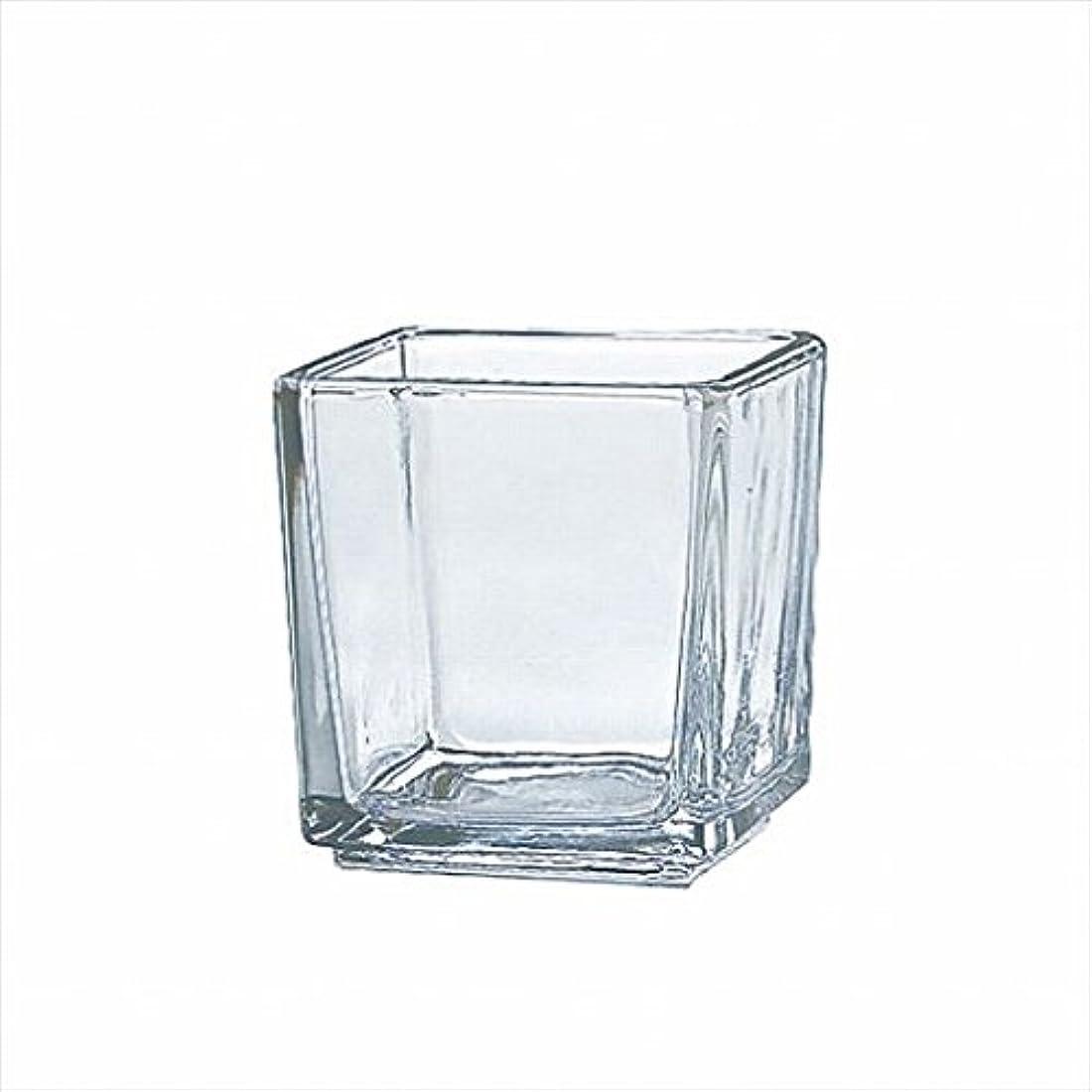 望まない広々体操カメヤマキャンドル( kameyama candle ) スクエアグラスS