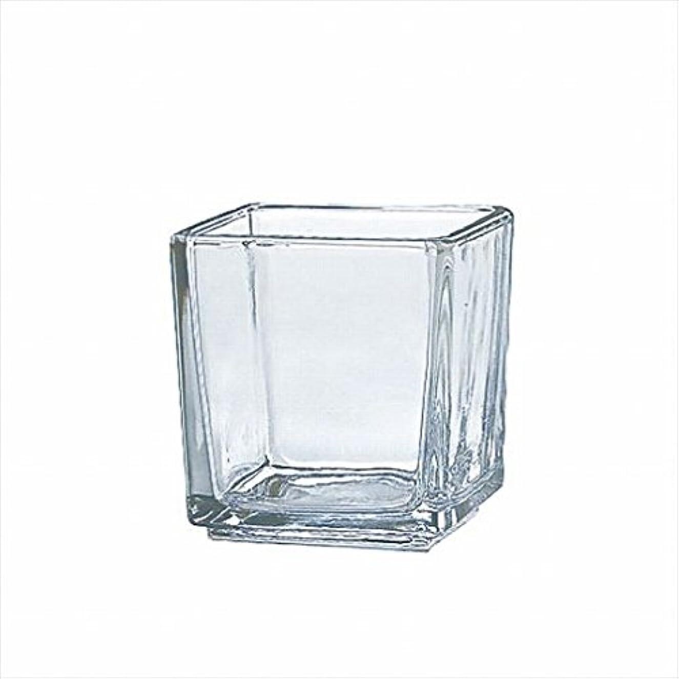 取得わかるパネルカメヤマキャンドル( kameyama candle ) スクエアグラスS