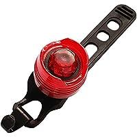USB充電式自転車ライトマウンテンバイクLEDテールライトに乗って機器のアクセサリー赤と白の光