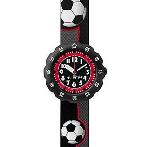 [フリック フラック]FLIK FLAK 腕時計 SOCCER STAR (サッカー・スター) Power Time 5+キッズ ボーイズ FPSP010 サマースペシャル 【正規輸入品】 FPSP010 ボーイズ 【正規輸入品】