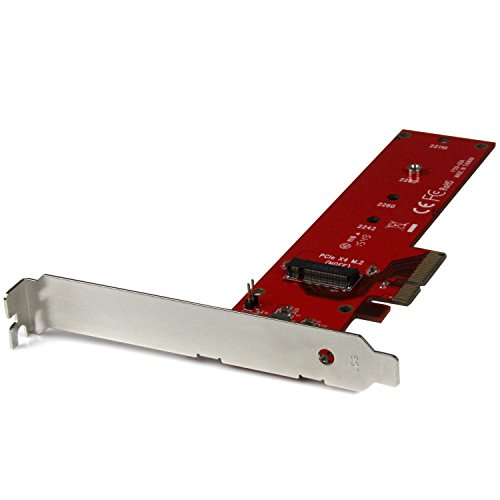 StarTech.com M.2 SSD - PCIe x4 変換アダプタ M.2 NGFF SSD(NVMe または AHCI) アダプターカード PEX4M2E1