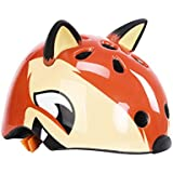 WINOMO ヘルメット 自転車 高密度PC 漫画 スケート サイクリング 保護用スポーツ 通気 調節可能子供用 可愛い 頭囲50-54cm